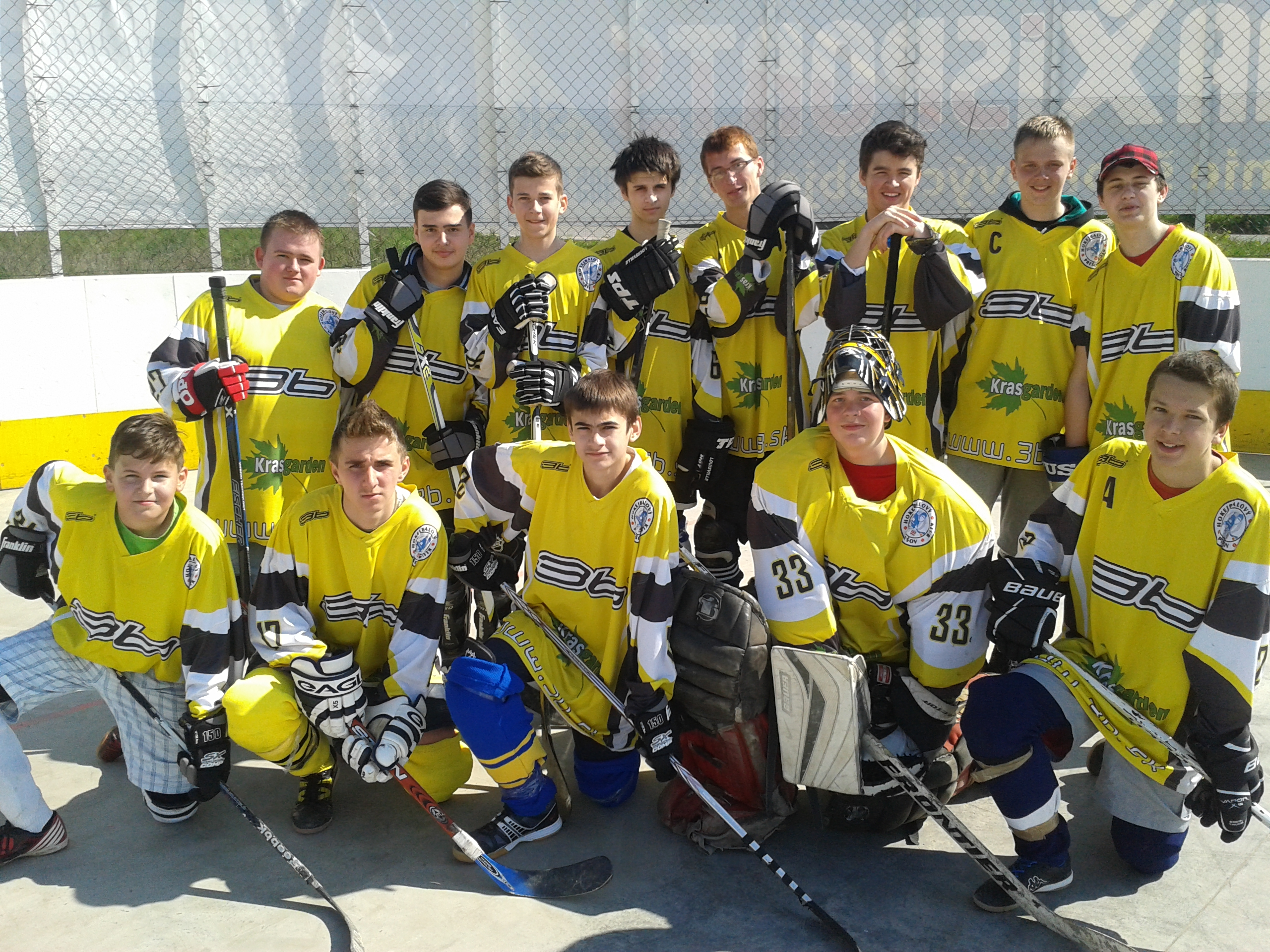 HBC JUNIORS TEAM  r. 2014